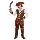 Costume carnevale bambino Pirata dei caraibi *05239 effettoparty