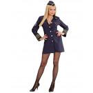 Costume Carnevale Donna Hostess assistente di volo 22886 pelusciamo store