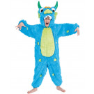 Costume Carnevale Monster Blu Travestimento Bambini EP 26058 Effettoparty Store Marchirolo
