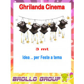 Festone Ghirlanda Lanterne Cinema - Festa , Party