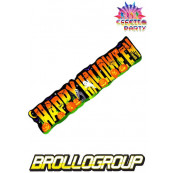 Striscione Gigante Happy Night Halloween, Accessori Festa Halloween  *18743