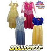 Costume Principesse Disney Bella Cenerentola Biancaneve Aurora *15151