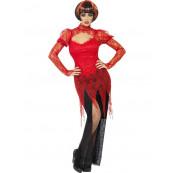 Travestimento Carnevale Halloween Donna Costume Vampira smiffys *17002