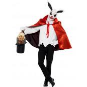 Travestimento Carnevale Halloween Adulto Coniglio Macabro Smiffy's *17073