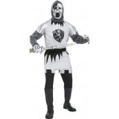 Travestimento Carnevale Adulto Cavaliere Fantasma costume Halloween *11923 Smiffys