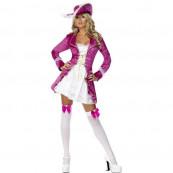 CostumI Carnevale travestimento Donna Sexy Pirata Rosa *12549  pirate treasure smiffy's