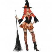 Travestimento Carnevale Halloween Donna Strega Maga Smiffy's *13905