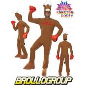 Costume Carnevale Adulto travestimento Toro Boxing Smiffys *15110