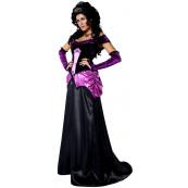 Travestimento Costume Carnevale Adulto Contessa Gotica 1800 Smiffys *11838