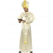 Costume Carnevale uomo Completo travestimento Adulto Papa EP 10374