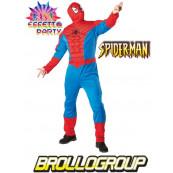 Costume Carnevale Travestimento uomo ragno Spiderman *17611