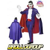 Travestimento Carnevale Halloween Adulto Conte Dracula Vampiro *11797