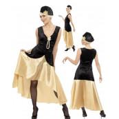 Costumi Carnevale Vestito Donna Gatsby Anni 20 Smiffys EP 12345
