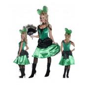 Vestito Donna Saloon Far West, Abito Carnevale Western *09916
