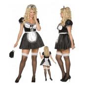 Costume Carnevale donna sexy Cameriera Taglie xl xxl smiffys 30381 *10444