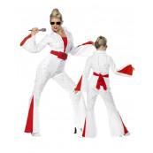 Costume Carnevale Donna travestimento Elvis Presley smiffys  *09895