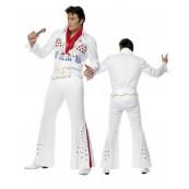 Costume Carnevale adulto Elvis Presley travestimento American Eagle *08897