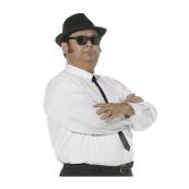 Abbigliamento Carnevale Camicia Cravatta Blues Brothers EP 09884