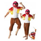 Travestimento Carnevale Uomo Animal Muppets Disney abito rubies *15006