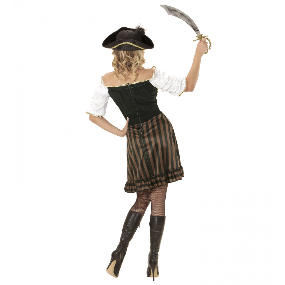 Costume Carnevale Donna  Vestito Pirata PS 24896 Piratessa