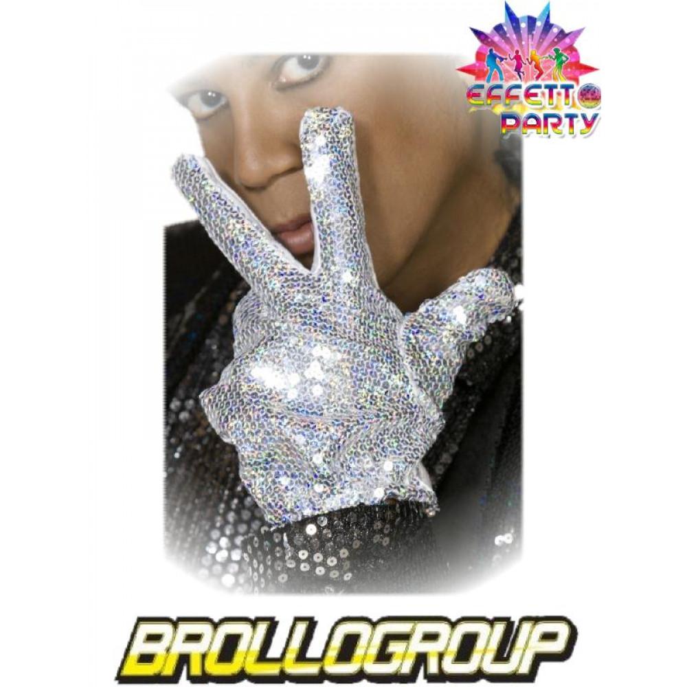 marchio famoso sconto di vendita caldo design innovativo Accessorio Costume Carnevale Guanto Michael Jackson Billie ...