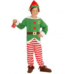 Costume Elfo Aiutante Di Babbo Natale EP 25871 Travestimento Natalizio Effettoparty store marchirolo