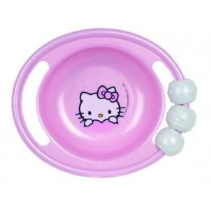 Ciotola con manici e sonaglio Hello Kitty pappa neonato *06968