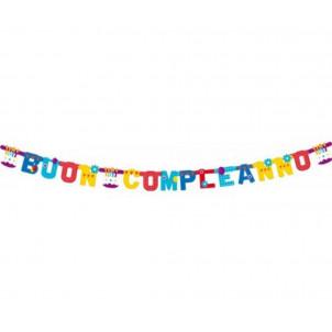 Festone Da Appendere Buon Compleanno  | Effettoparty.com