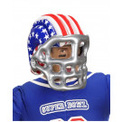 Casco gonfiabile football americano accessori carnevale 04689 one size adulto effettoparty store