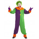 Costume Uomo Clown Evil Joker Travestimento Halloween EP 25849 Effettoparty Store Marchirolo
