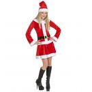 Vestito Babba Natale Donna EP 25814 Miss Santa Pelusciamo Store Marchirolo