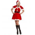 Abito Natalizio Babba Natale Vestito Miss Santa EP 25819 Pelusciamo Store Marchirolo