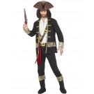 Costume Carnevale Uomo Pirati Capitano Pirata EP 26264 Effetto Party Store marchirolo