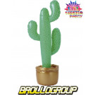 Accessori Feste e party Cactus Gonfiabile 100 cm. arredo smiffys *08970