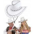 Cappello Cowboy Bianco Travestimento Carnevale EP 26409 Effettoparty store Marchirolo