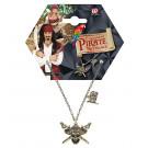 Accessorio costume Pirata, Collana Piratessa  | Effettoparty.com
