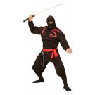 Costume Carnevale Travestimento Super Ninja Muscoloso EP 26187 Effetto Party Store marchirolo