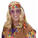 Accessori Costume Carnevale figli dei fiori Parrucca hippie dude *20068 effettoparty store