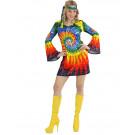 Costume Carnevale Hippie Vestito Donna Psichedelico EP 26558 Effettoparty Store Marchirolo