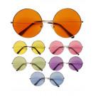 Occhiali Anni 70 lente Colorata Per Costume Carnevale EP 26508 Effettoparty Store