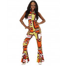 Costume Carnevale Groovy Girl Travestimento Anni 70 EP 26250 Effetto Party Store marchirolo