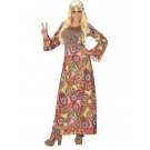 Costume Carnevale Hippie EP 26128 Taglie Forti Donna Effettoparty Store Marchirolo