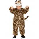 Costume Carnevale In Caldo Peluche Travestimento Leopardo EP 26104 Effettoparty Store Marchirolo