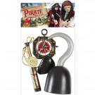 Set Accessori Pirata Per Costume Carnevale Pirati EP 26480 Effettoparty store Marchirolo