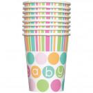 Accessorio Festa Baby Shower Bambino ,Bicchierii in Carta  PS 11132 | Effettoparty.com
