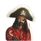 Cappello da Pirata con fascia - Accessorio Costume Carnevale Corsaro | Pelusciamo.com