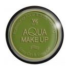 Trucco , ad Acqua Viso  Tampone colore Verde *24815 Cerone Professionale