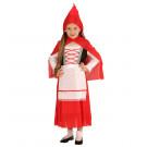 Vestito Carnevale Bimba  Vestito  Cappuccetto Rosso EP 24905 Effettoparty Store marchirolo