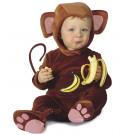 Costume Carnevale Bimbo, Scimmietta  *05436 travestimento Primi Mesi