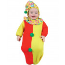 Costume Carnevale Neonato da Clown a Sacco + 0 Mesi  | Pelusciamo.com